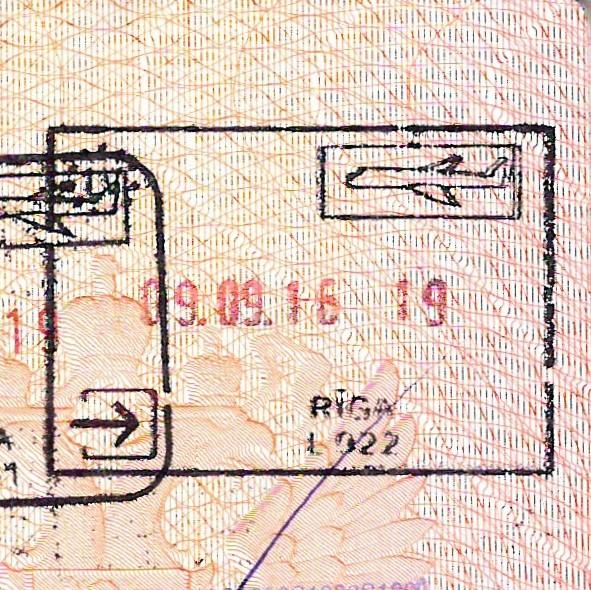 <Штамп: Латвийская Республика; Рига; L {q}{q}{q}; 09.09.16. 19.>